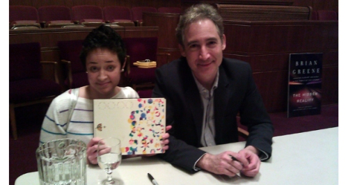 Carmen meets Brian Greene